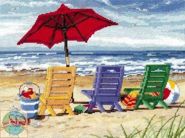 120022-DMS Пляжные кресла-трио