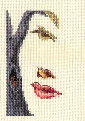 6-065 Лицо-птицы