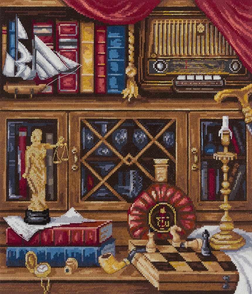 """Н-1932 """"Натюрморт с шахматами"""""""
