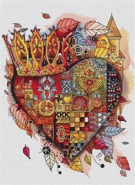 940-14 Королевское сердце