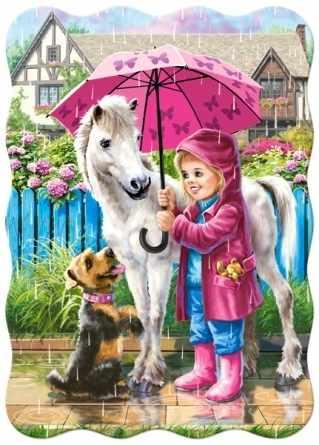 В-03426 Дождливый день с друзьями,30 деталей