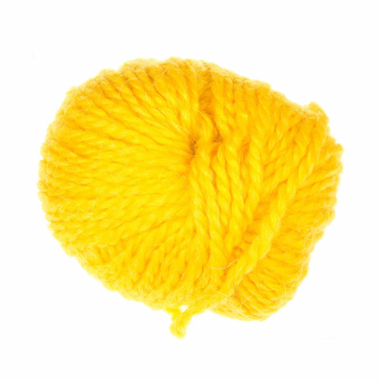 Пряжа Пехорка Северная Цвет.75 Желтая роза