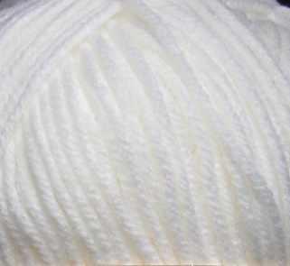 Пряжа Пехорка Удачный выбор Цвет.01 Белый