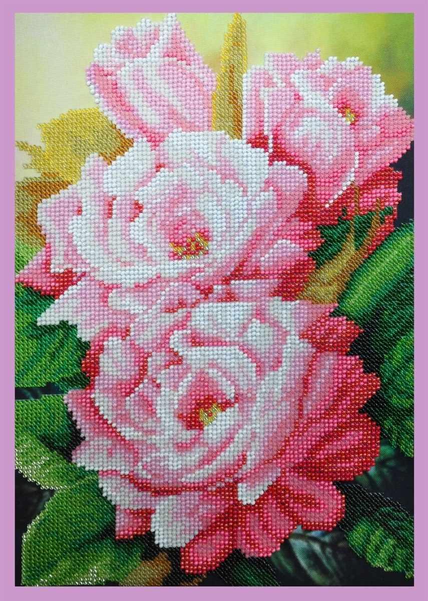 """Р-294 """"Розовый аромат"""" - набор для вышивания"""