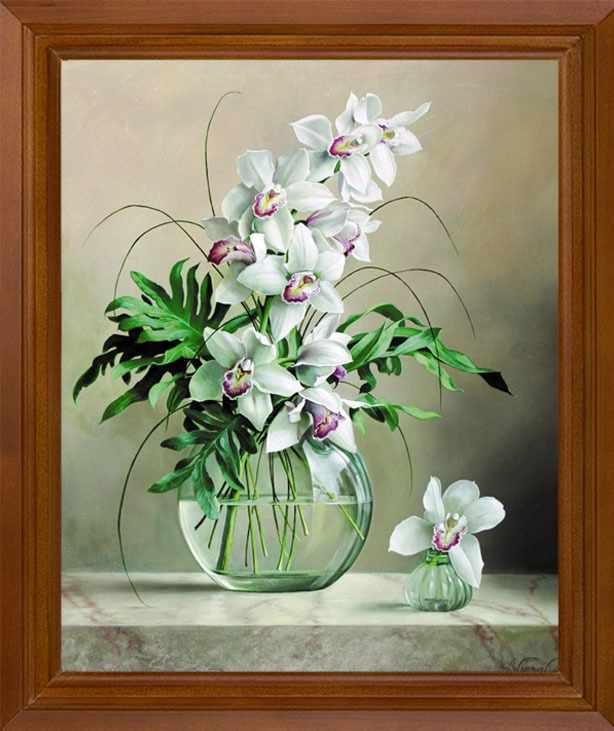 Р315 Орхидеи - схема для вышивания (FeDi)