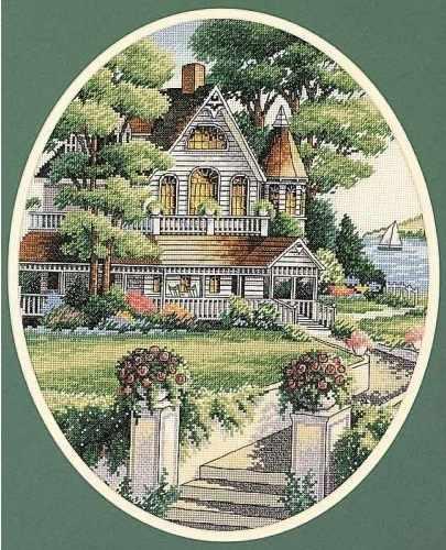 4351 Викторианский дом
