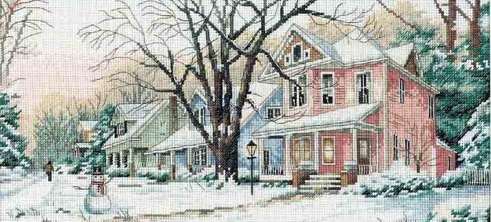 4374 Зимняя улица