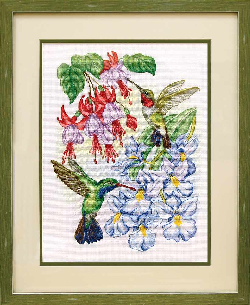 АРВ-13003 Колибри и цветы