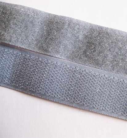 099 серый Липучка 20 мм