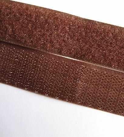 107 коричневый Липучка 20 мм