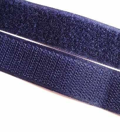 114 т.синий Липучка 25 мм