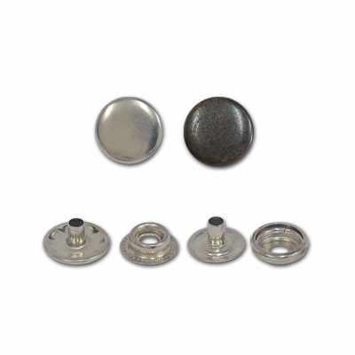 PKM Кнопка металл 15мм №04 никель