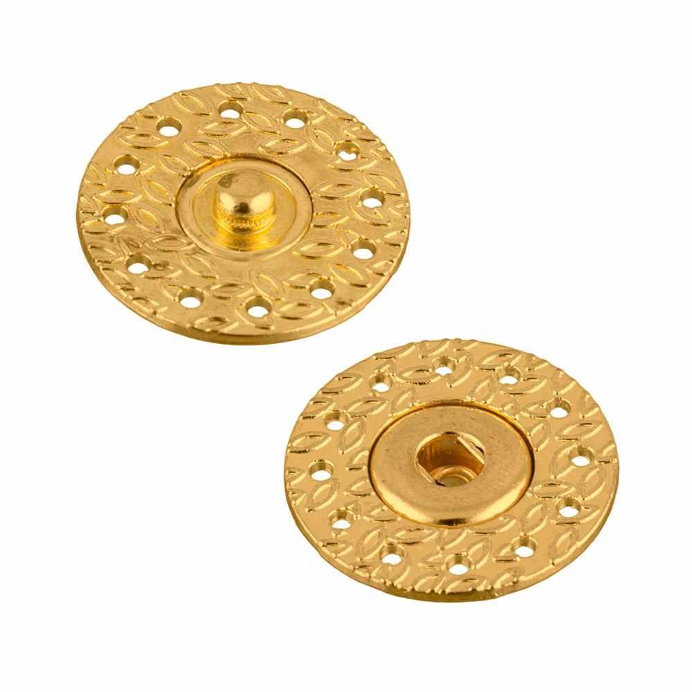 KLQ-21 Кнопки пришивные 21мм №04 под золото
