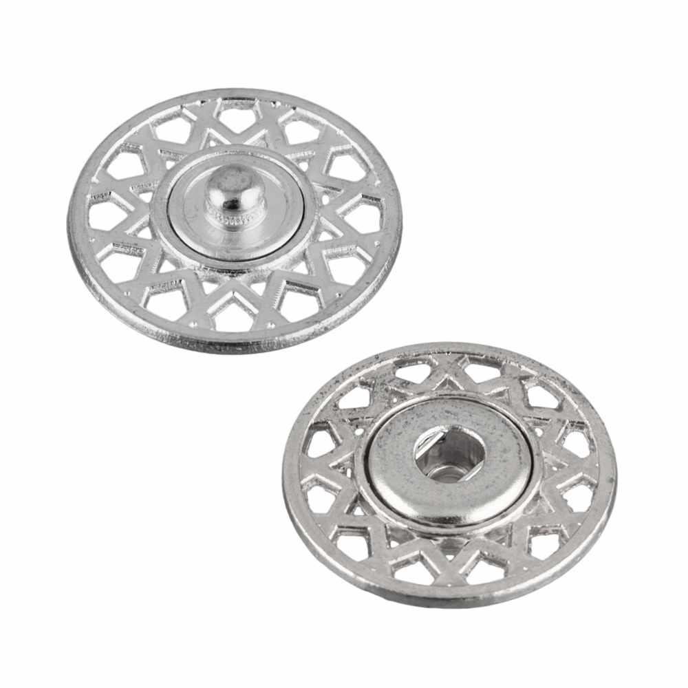 KLY-25 Кнопки пришивные 25мм №01 под никель