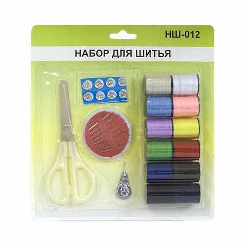 НШ-012 Набор для шитья в блистере 20*21 см