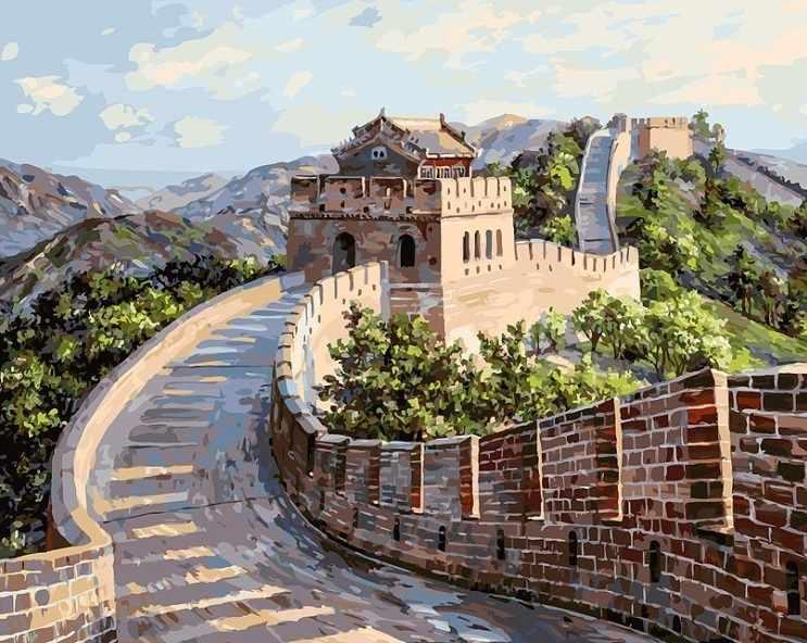 195-AB Великая Китайская стена (Белоснежка)