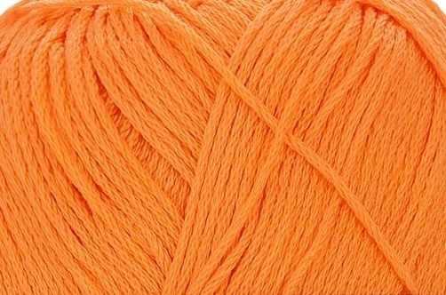 Пряжа Пехорка Детский хлопок Цвет.485 Жёлто-оранжевый