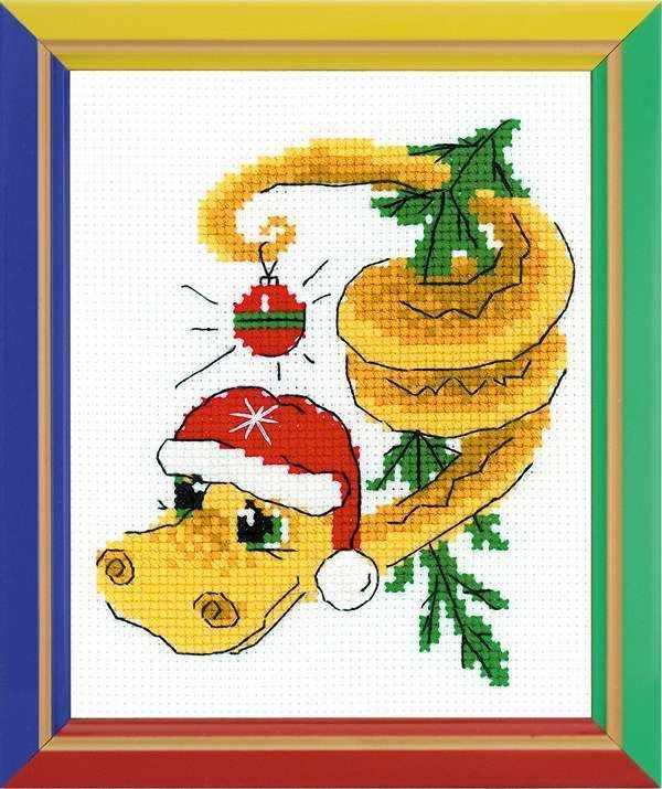 нв126 новогодний змей