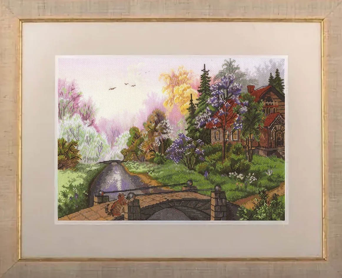 PS-1466 Персики в цвету
