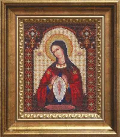 """Б-1096  """"Икона  Божьей Матери Помощница в родах"""" - чм"""