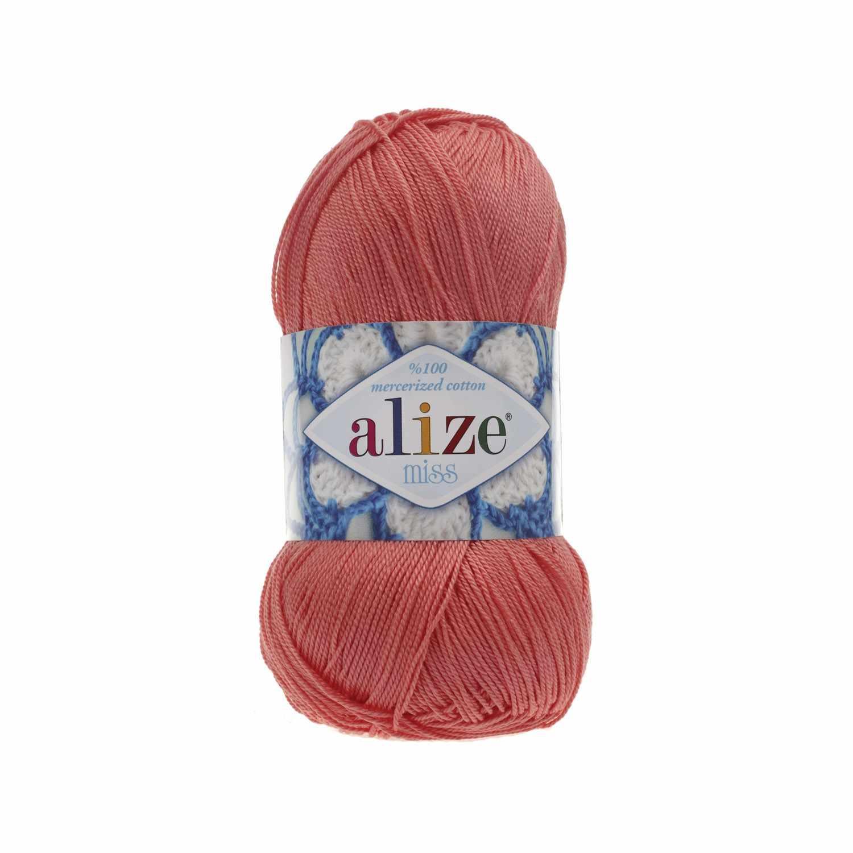 Пряжа Alize Miss Цвет.619 Коралл