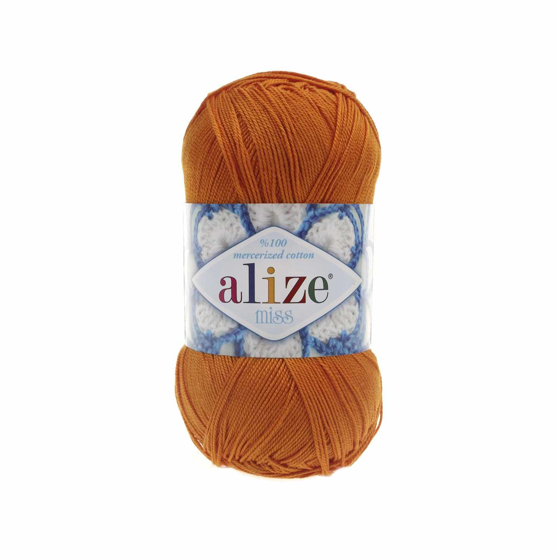 Пряжа Alize Miss Цвет.83 Оранжевый