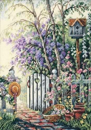 4392 Калитка в сад