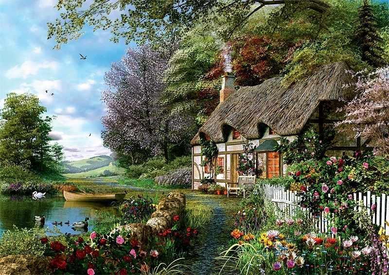 Пейзаж в открытках