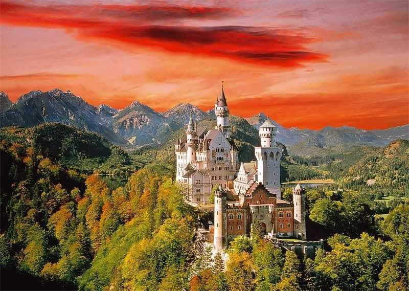 27050 Замок Нойшванштайн, Бавария, 2000 деталей