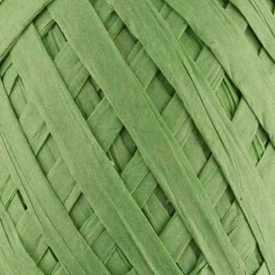 PARF-8 Рафия бумажная 05 зеленый, 5*30м
