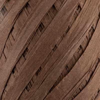 PARF-8 Рафия бумажная 09 коричневый, 5*30м