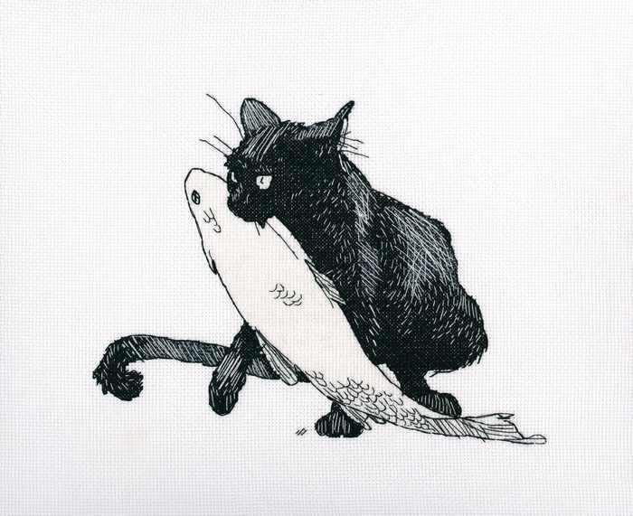 M665 - Среди черных котов