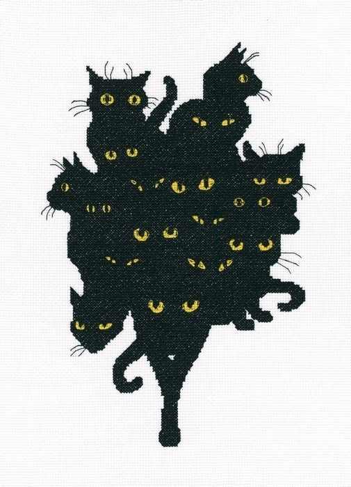 M670 - Среди черных котов