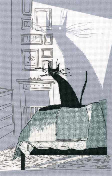 M70025 - Среди черных котов
