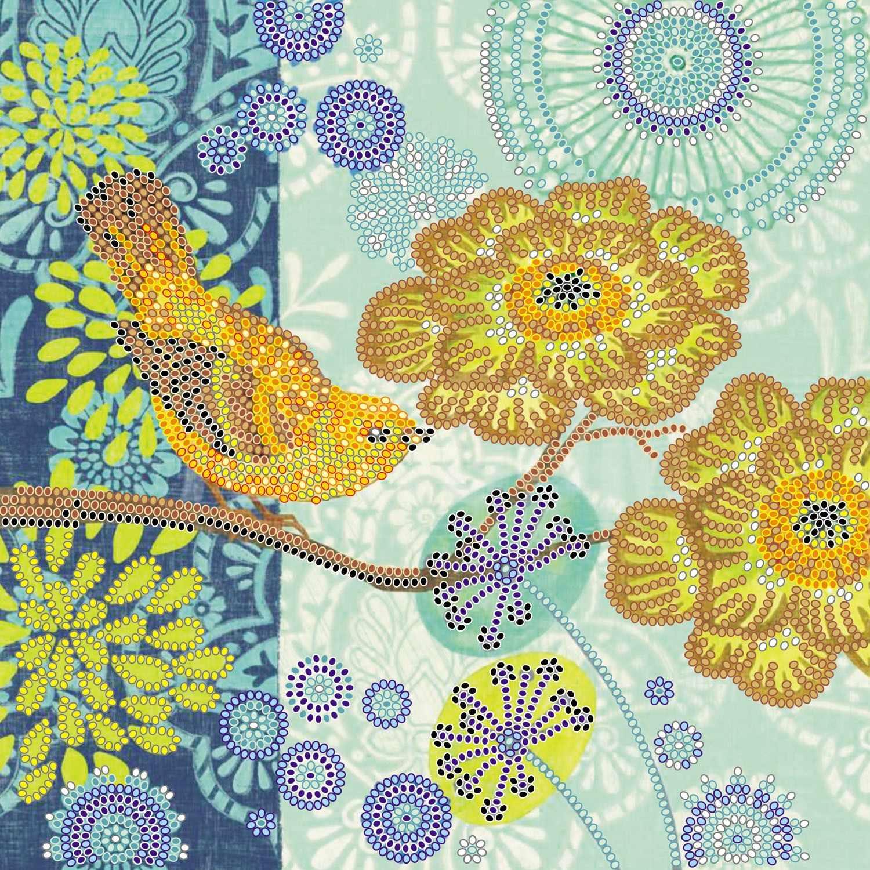 """АС-516  """"Маленькая птичка"""" - схема для вышивания (Абрис Арт)"""