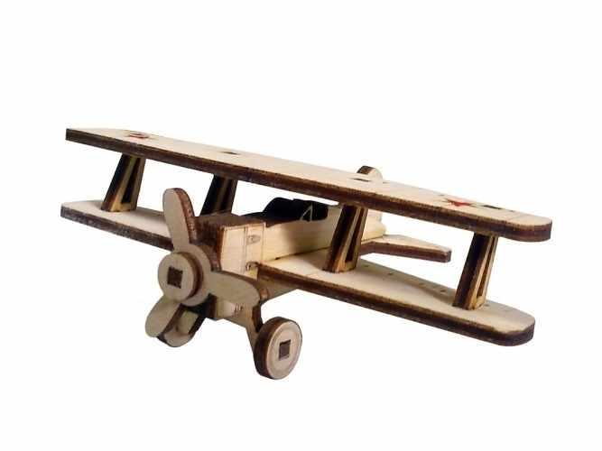 И-15 Конструктор 3D подвижный Советский самолет