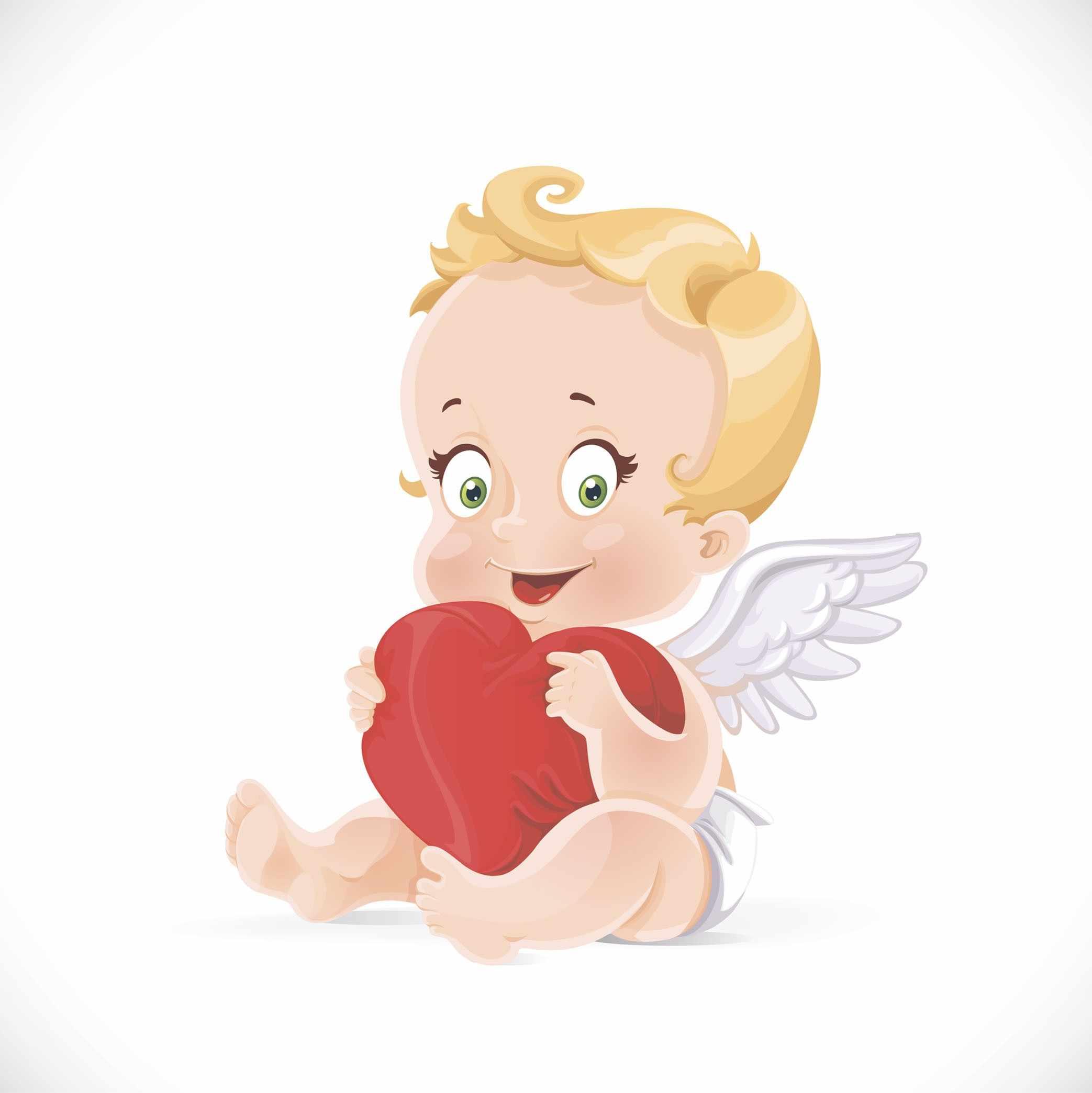 П18 Ангел с сердечком