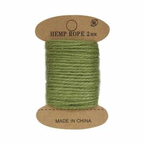 Джутовая веревка (светло-зеленый)