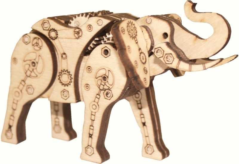 F-067 Механический слон - набор