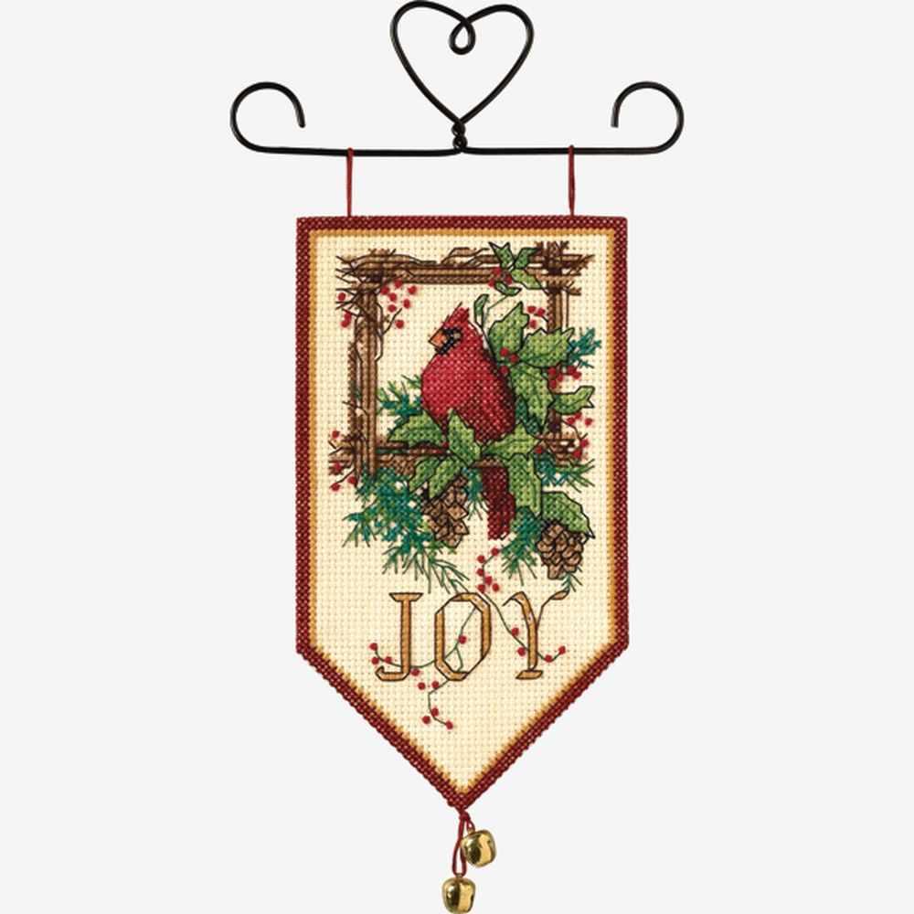 8822 DMS Cardinal Joy Mini Banner