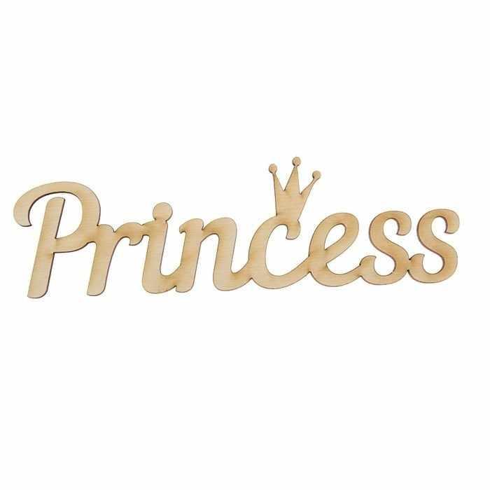 """1426213 Деревянная заготовка """"Princess"""""""