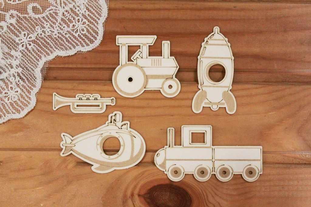 арт.Д-225 Набор игрушек для мальчика