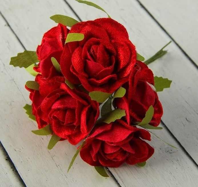 """2443174 Декор для творчества """"Бархатные розы"""""""