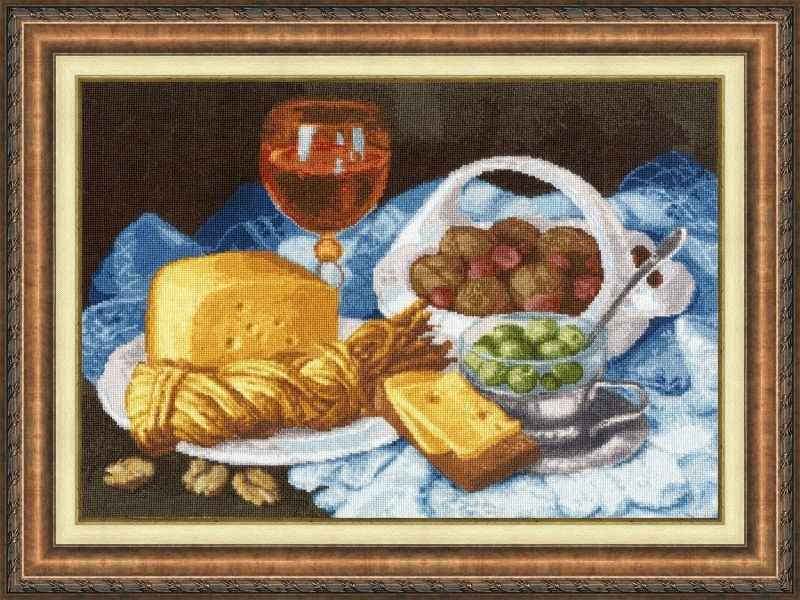 СЖ-048 Натюрморт с сыром