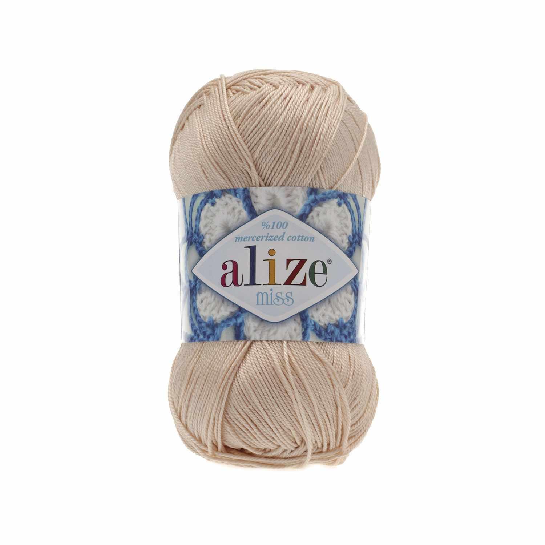 Пряжа Alize Miss Цвет.160 Св.бежевый