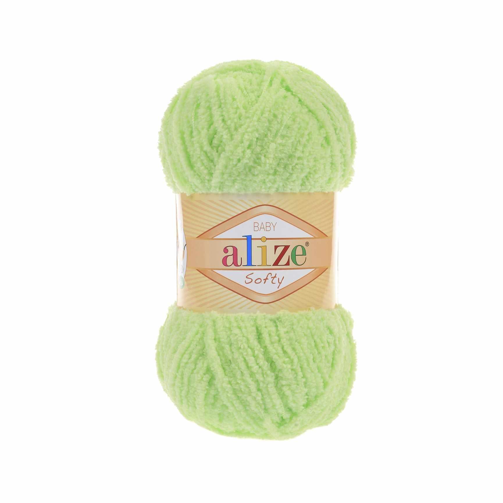 Пряжа Alize Softy Цвет.41 Ментол