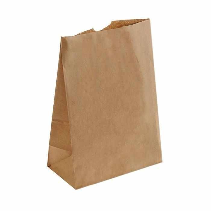 1303313 Пакет крафт бумажный фасовочный