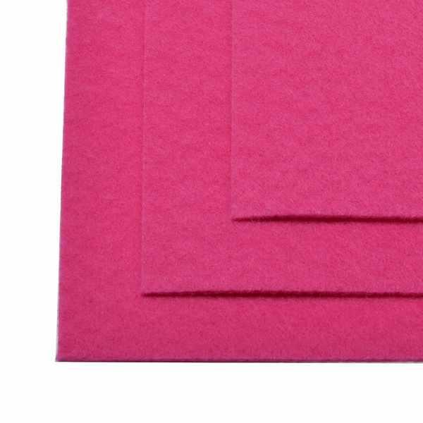 TBY.FLT-H1.609 Фетр листовой жесткий, яр.розовый