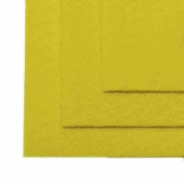 TBY.FLT-H1.633 Фетр листовой жесткий, лимон