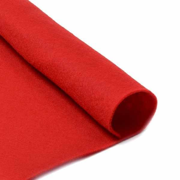 TBY.FLT-S1.601 Фетр листовой мягкий, красный